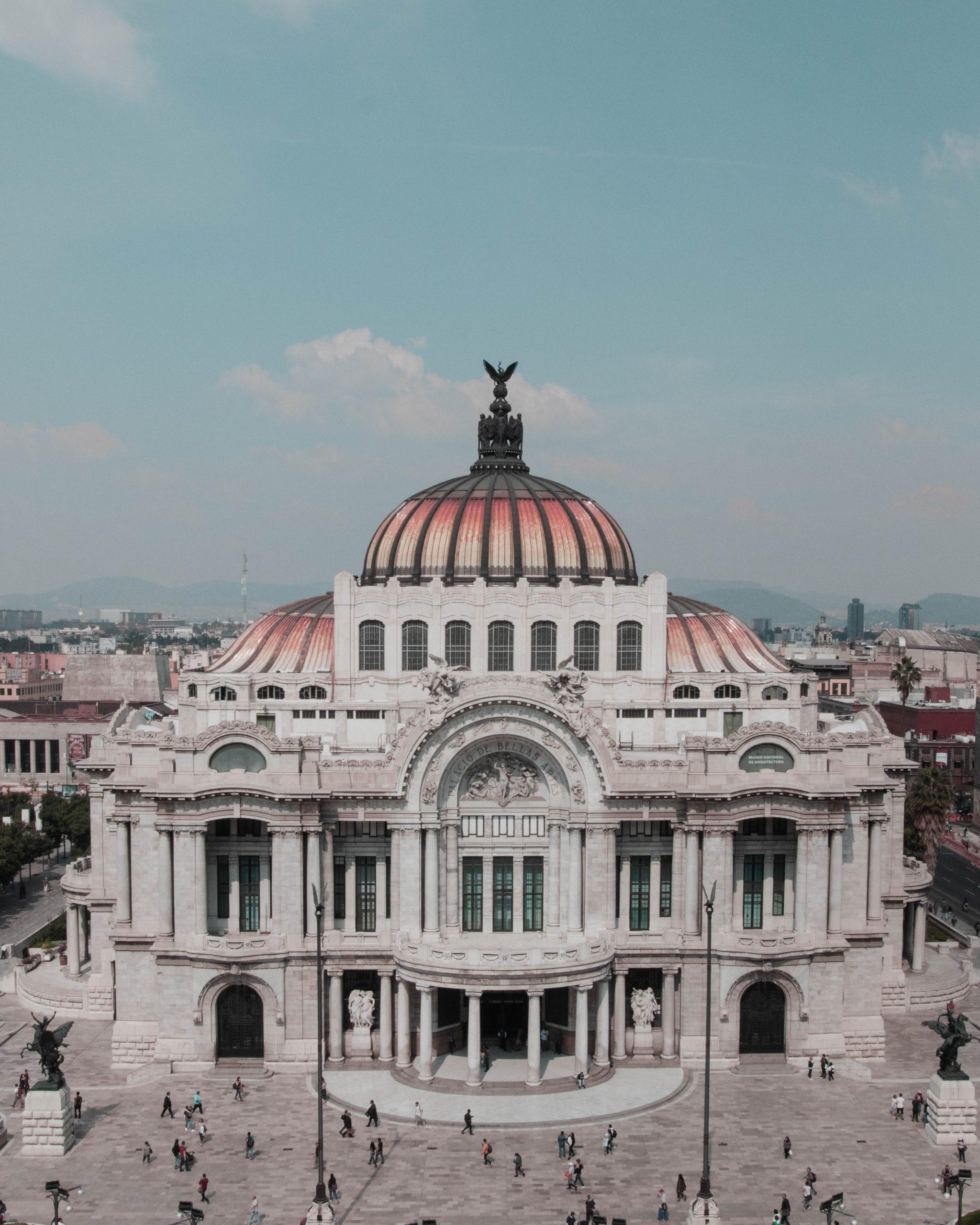 Palacio de Bellas Artes en México