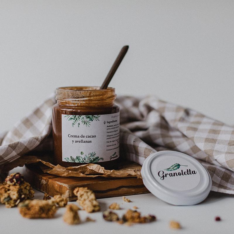 Crema de cacao de Granoletta./Foto: Granoletta