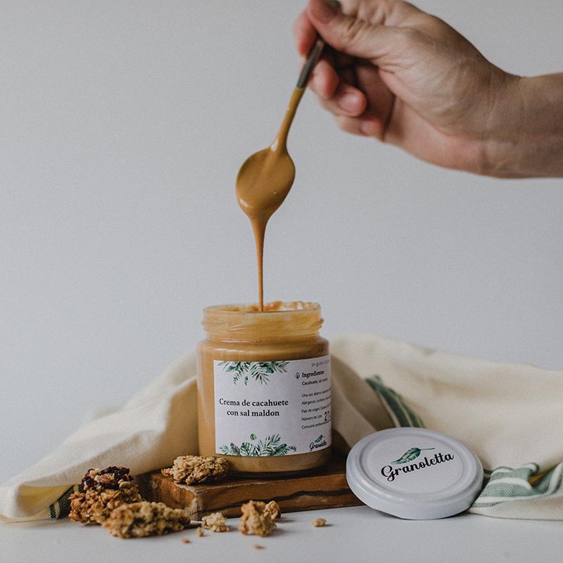 Crema de galleta de Granoletta./Foto: Granoletta