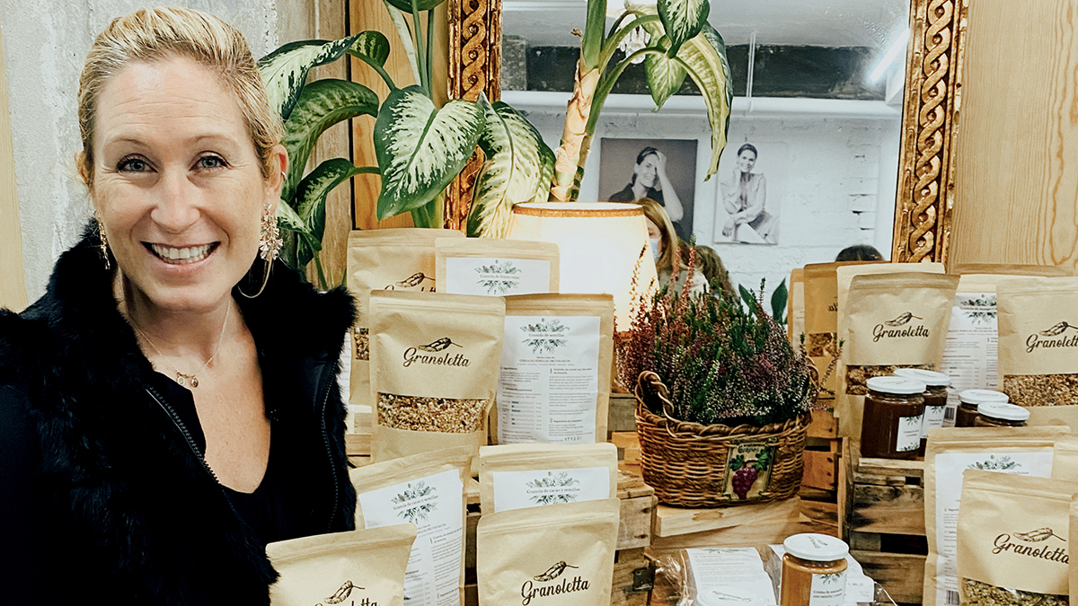 Sara Bermejo, fundadora de Granoletta. /Foto: Granoletta