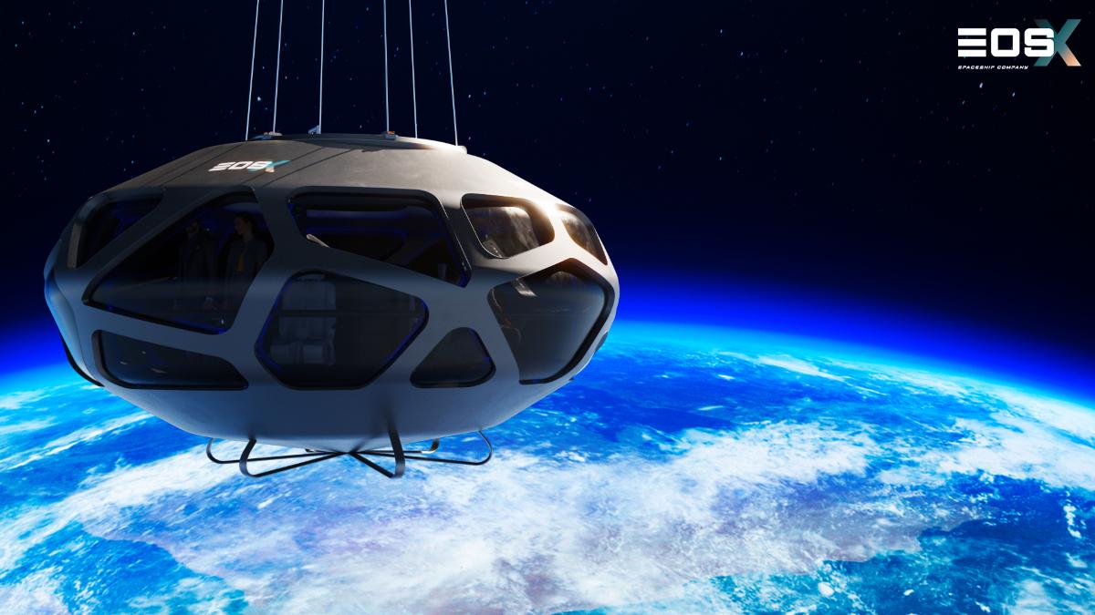 Foto: Render EOSX ruismo espacial