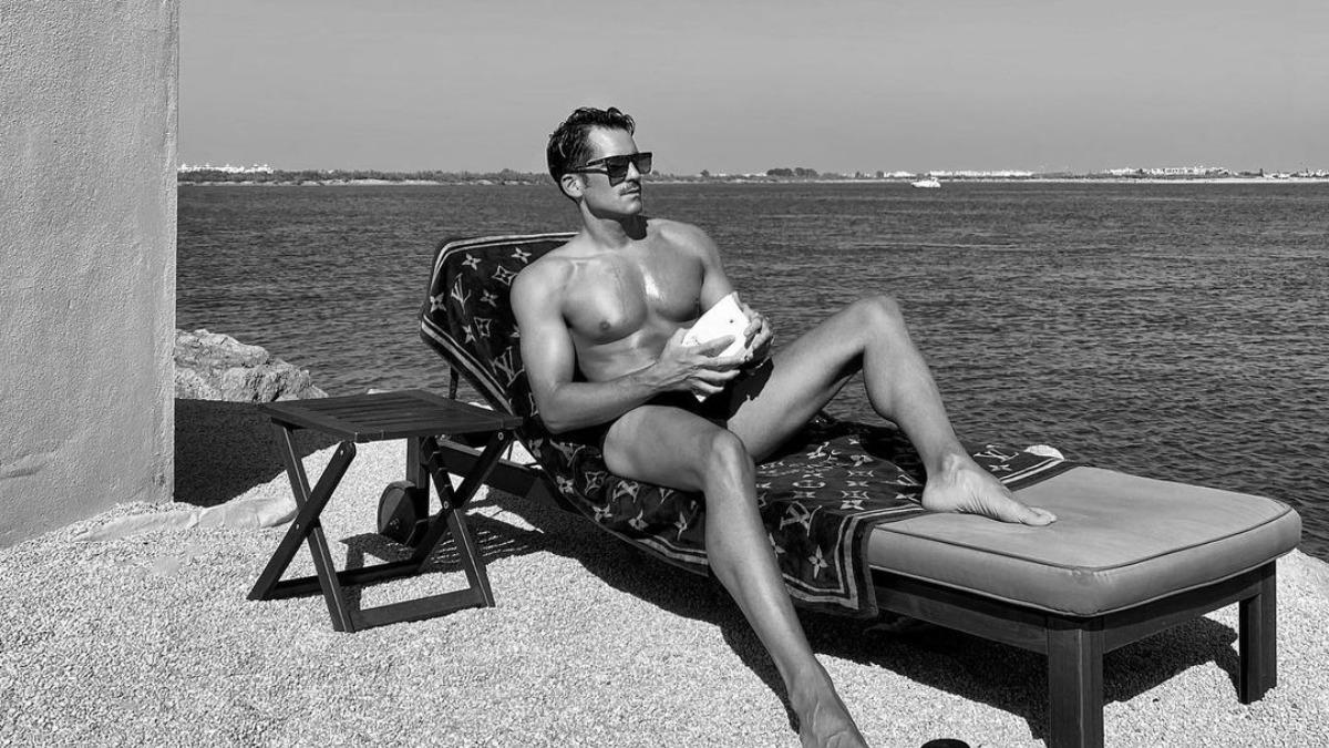 Tomando el sol en el Algarve