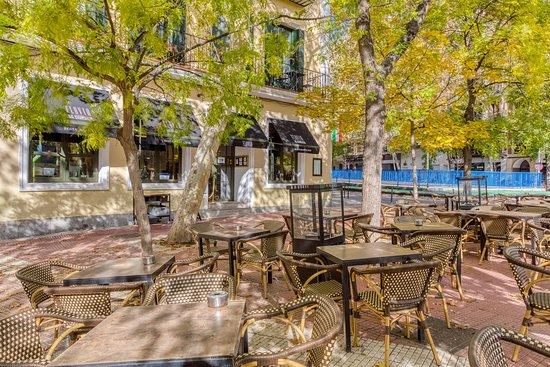 La terraza / Foto: Flavia de Chamberí