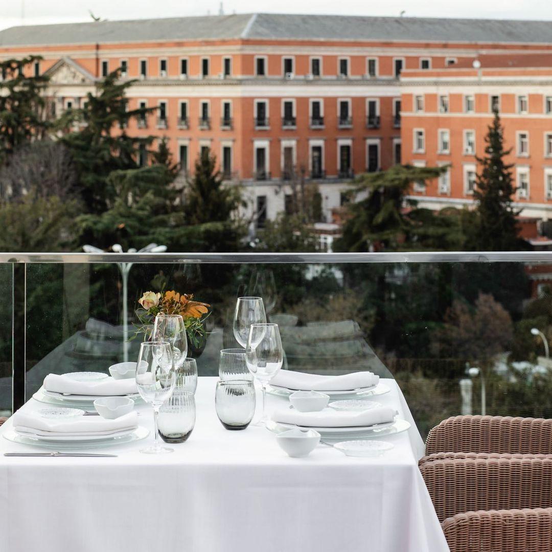La terraza / Foto: Palacio de Cibeles