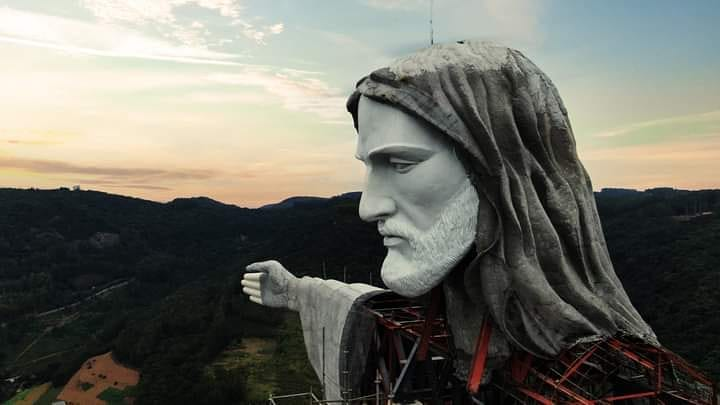 Cristo Protector en Brasil
