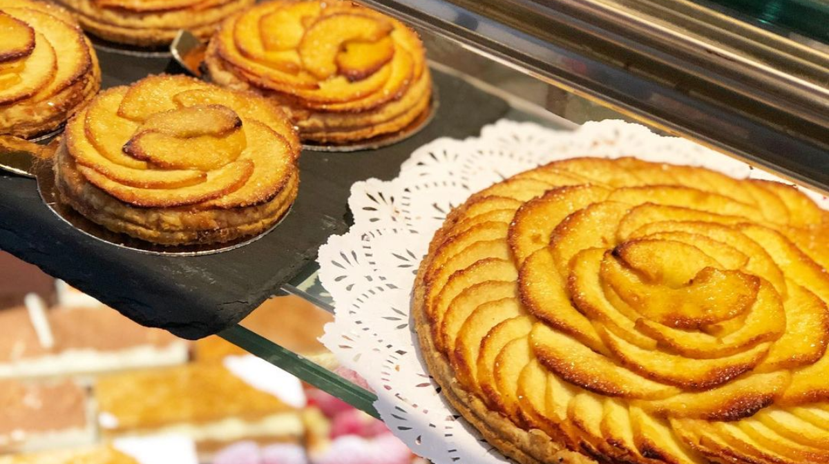 Tarta de manzana de Mallorca