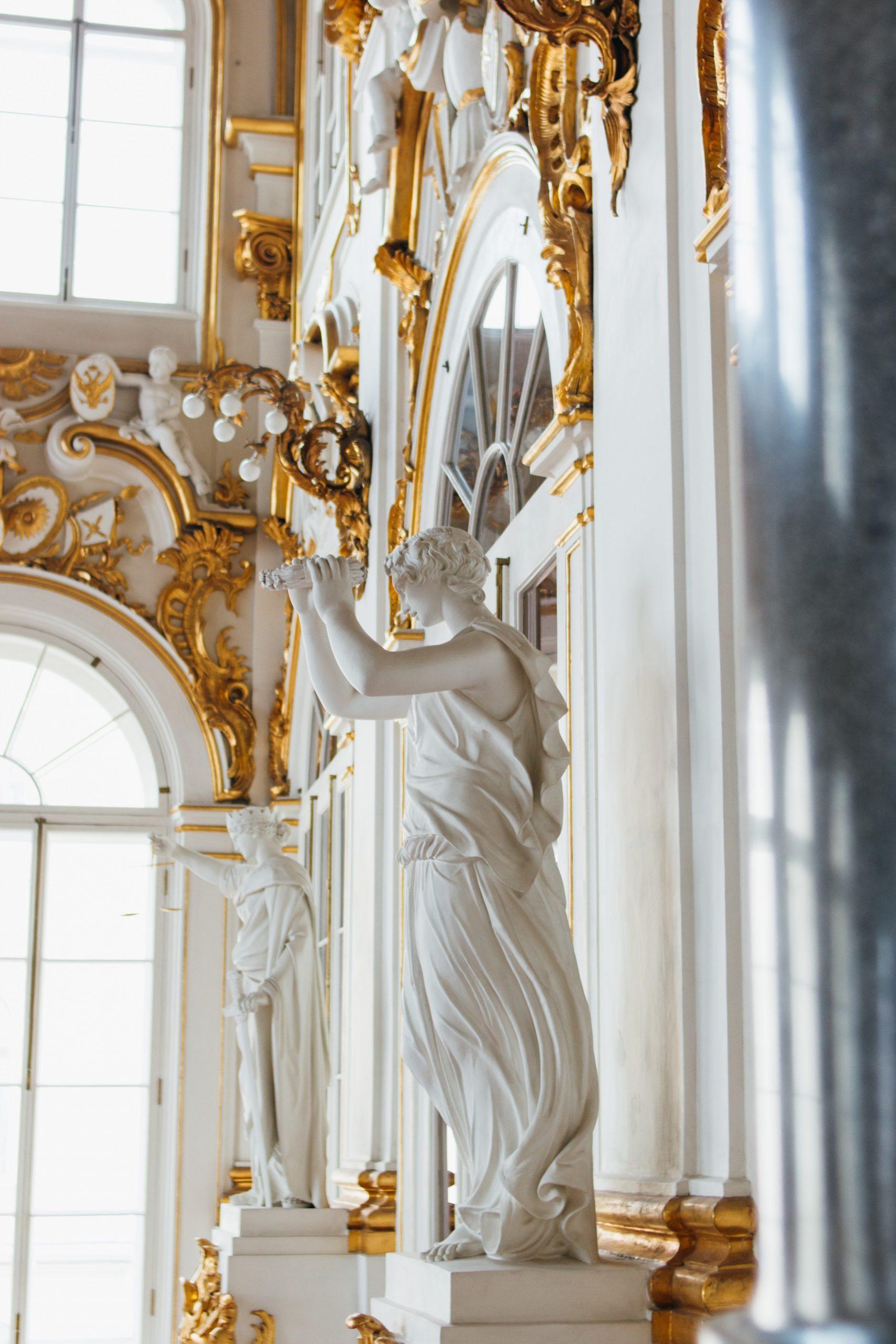 Museo Hermitage en San Petesburgo, Rusia