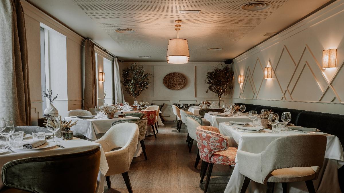 Interior del restaurante / Foto: Prístino