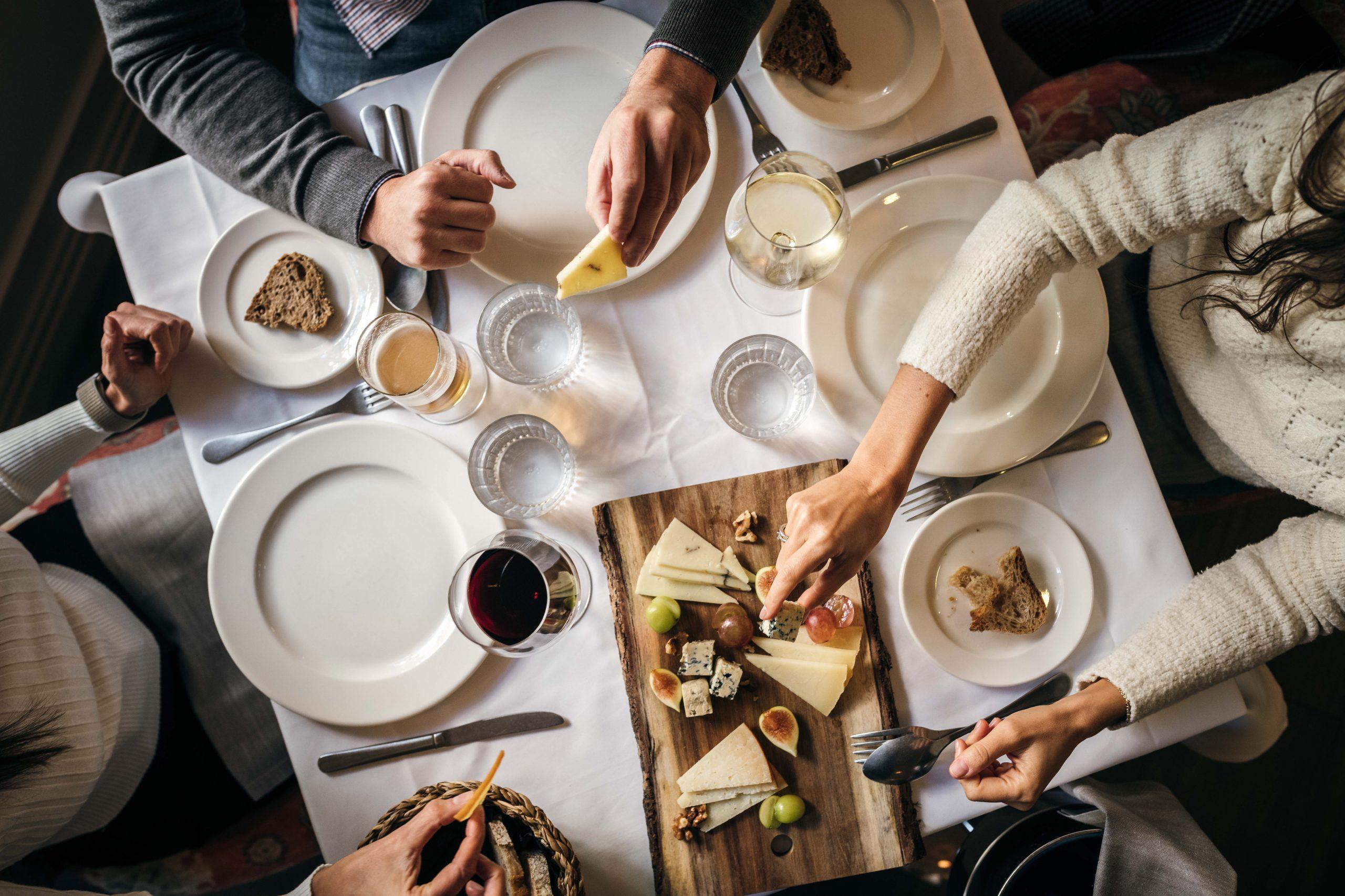 Mesa del restaurante / Foto: Jose Salto