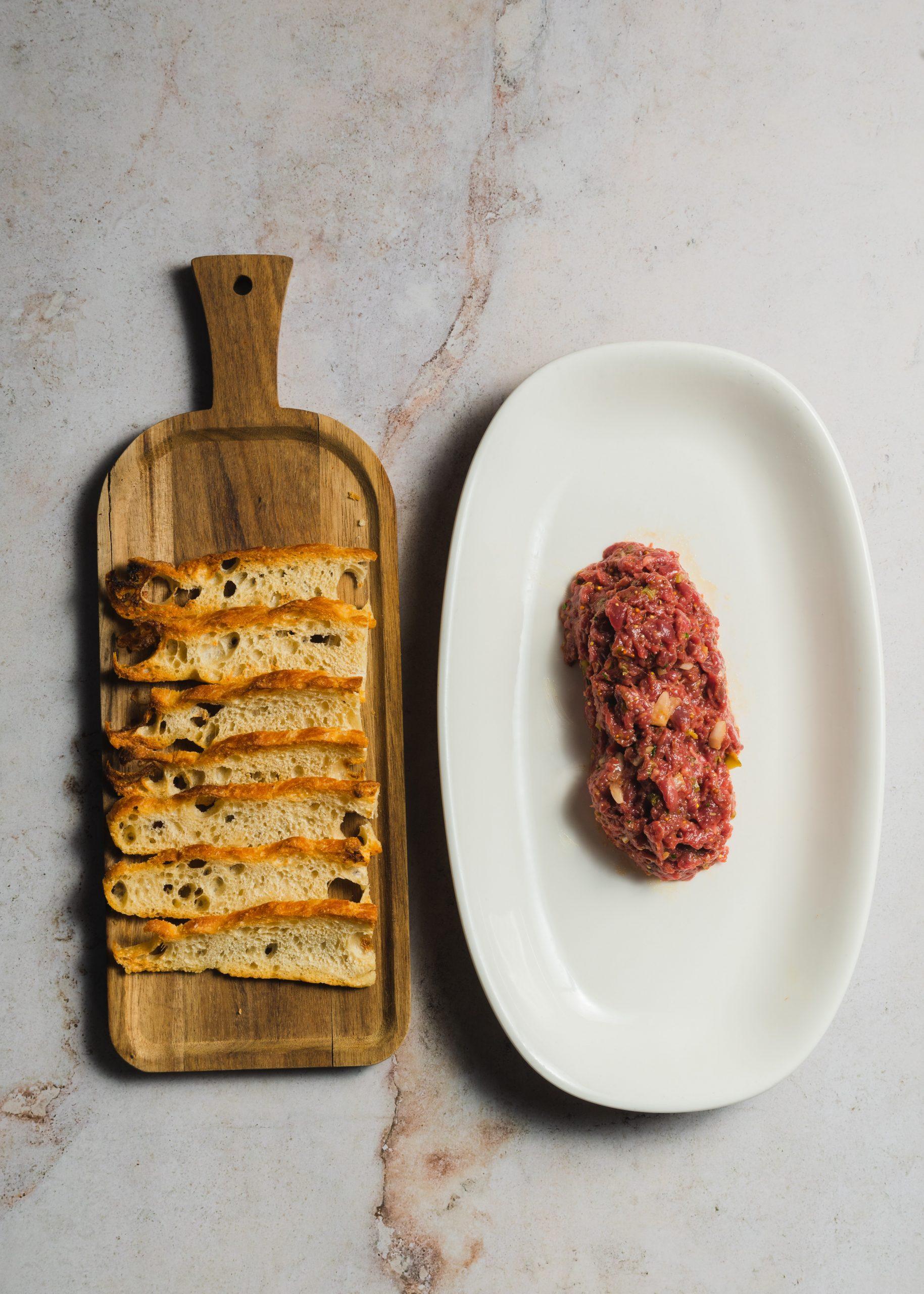 Steak tartar de ternera / Foto: Prístino