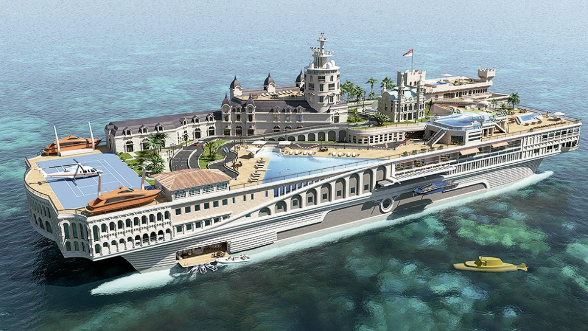 Yate The Streets of Monaco