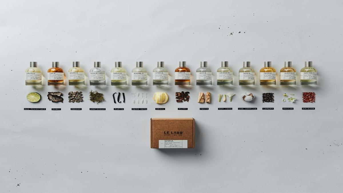 Algunos perfumes de Le Labo / Foto: Le Labo