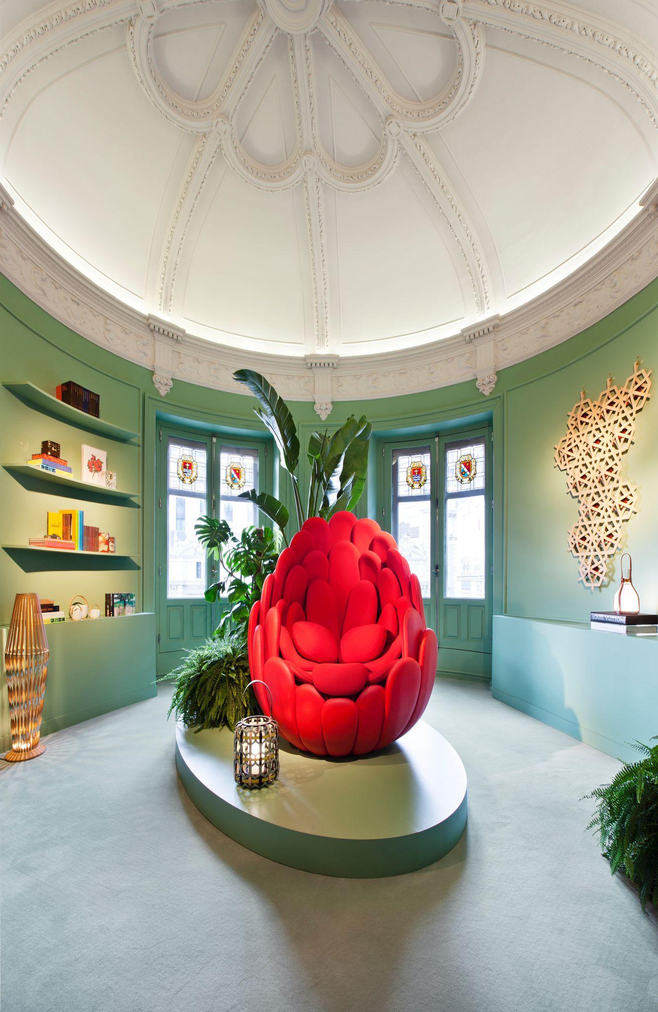 Sala de Louis Vuitton
