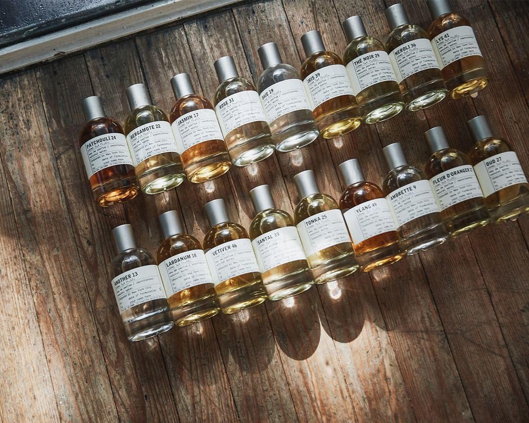 Selección de perfumes / Foto: Le Labo