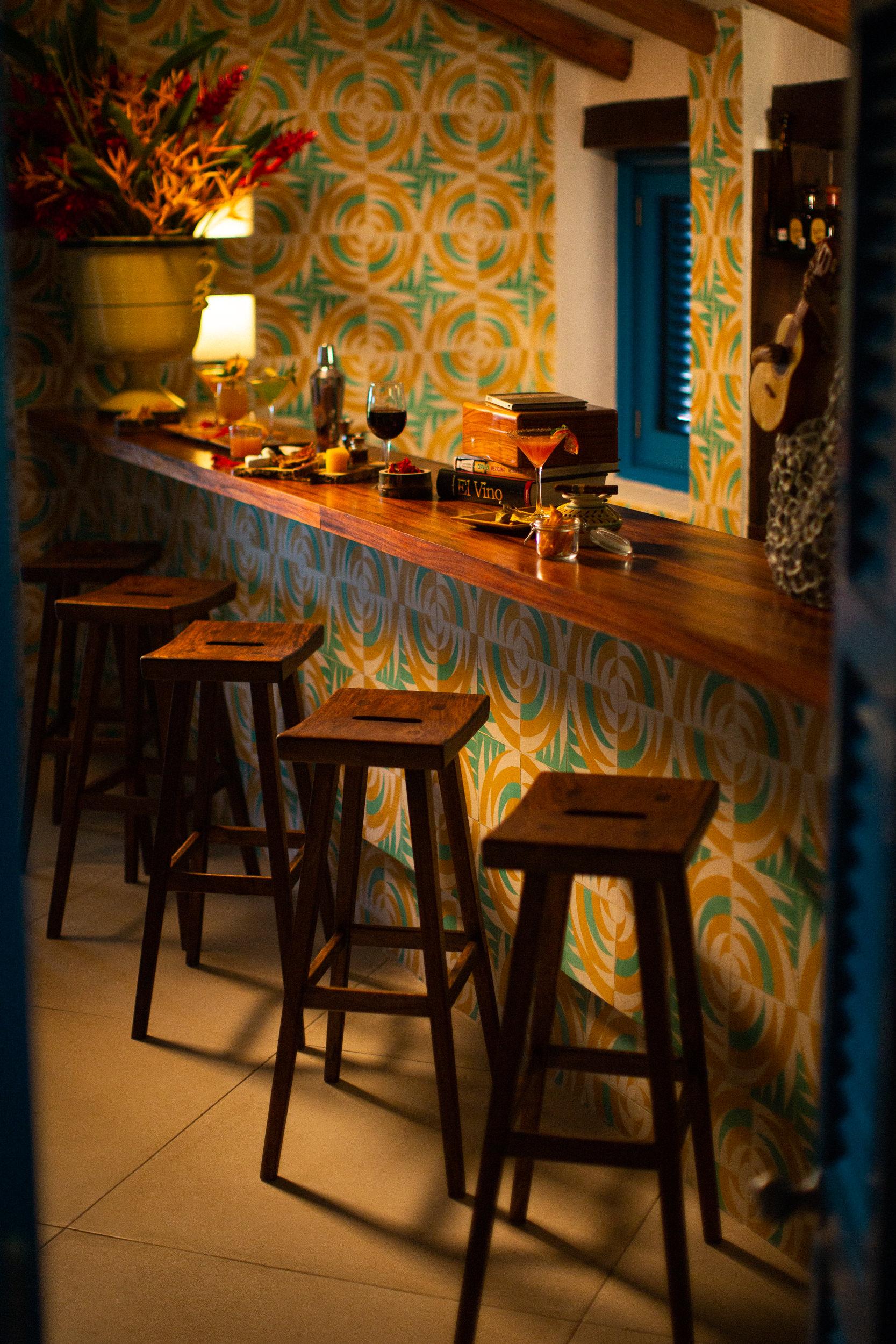 La barra de Casa Gómez / Foto: Cuixmala