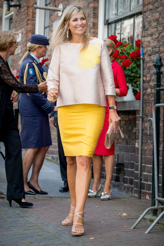 La reina Máxima de Holanda