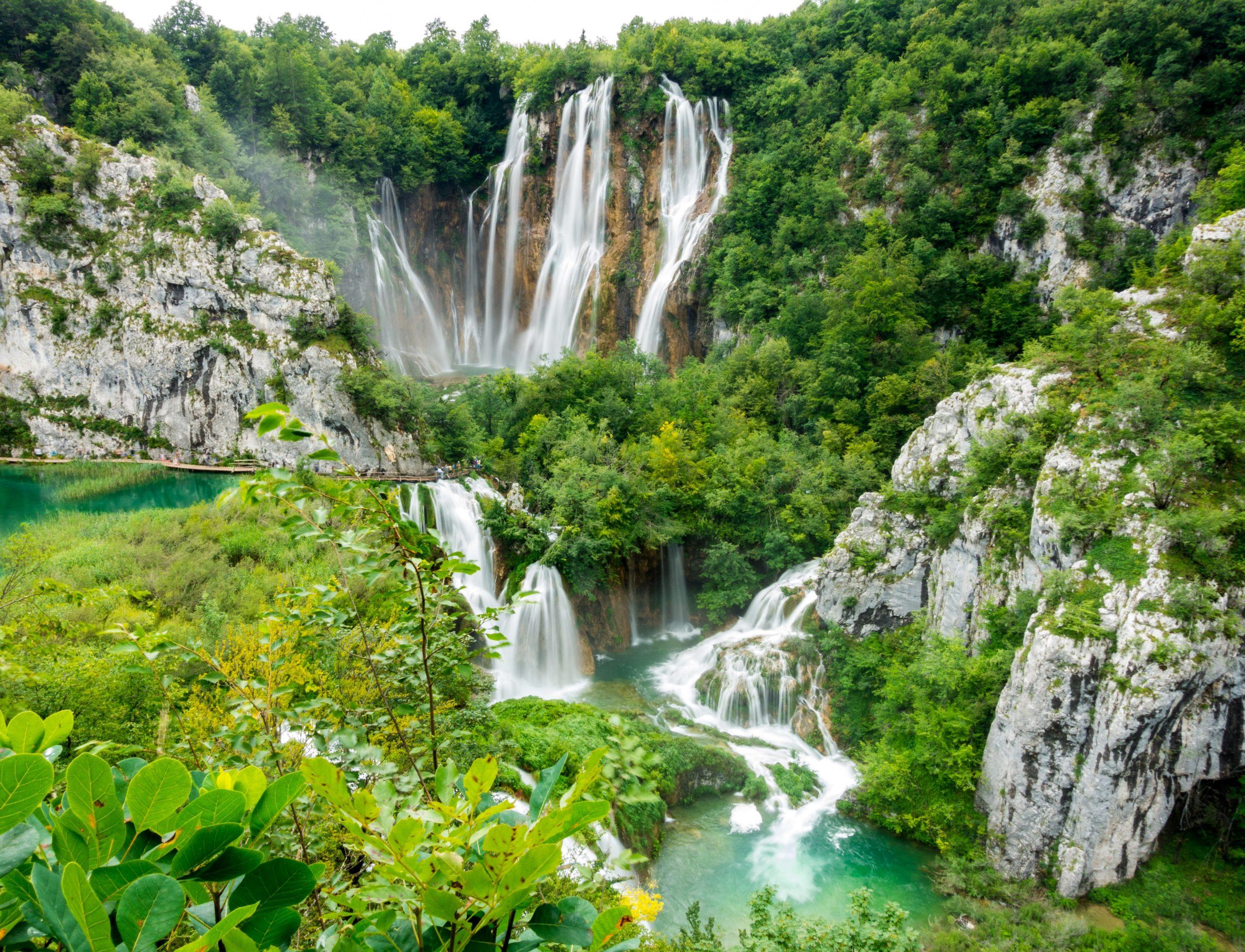 Parque Natural de Los Lagos de Plitvice