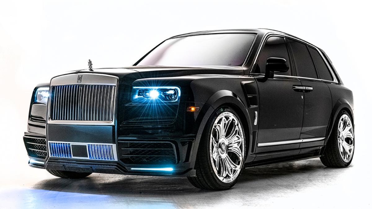 Drake y Chrome Hearts diseñan un nuevo Rolls-Royce Cullinan
