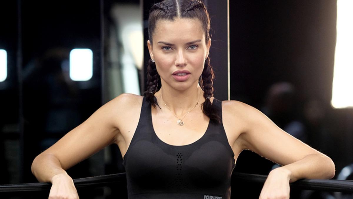 Adriana Lima lista para entrenar