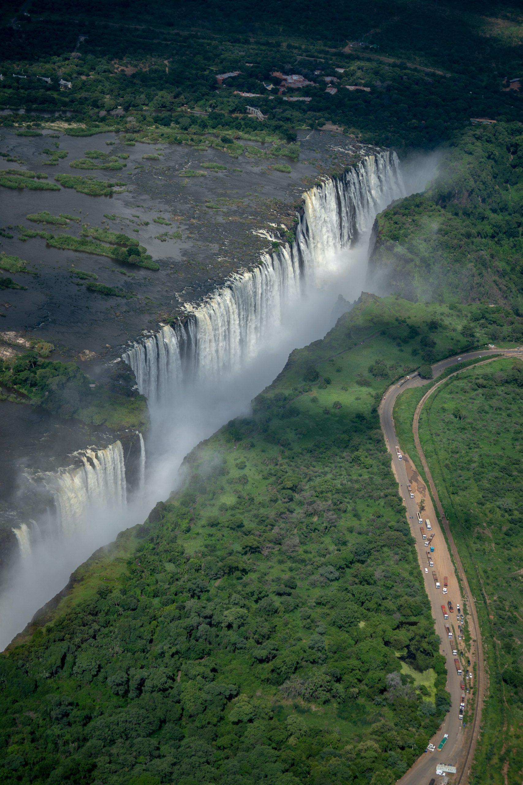 Cataratas Victoria, Zambia y Zimbabwe