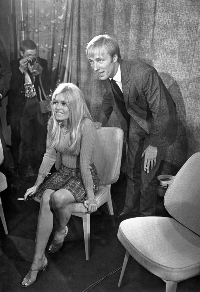 Brigitte Bardot y Michael Sarne
