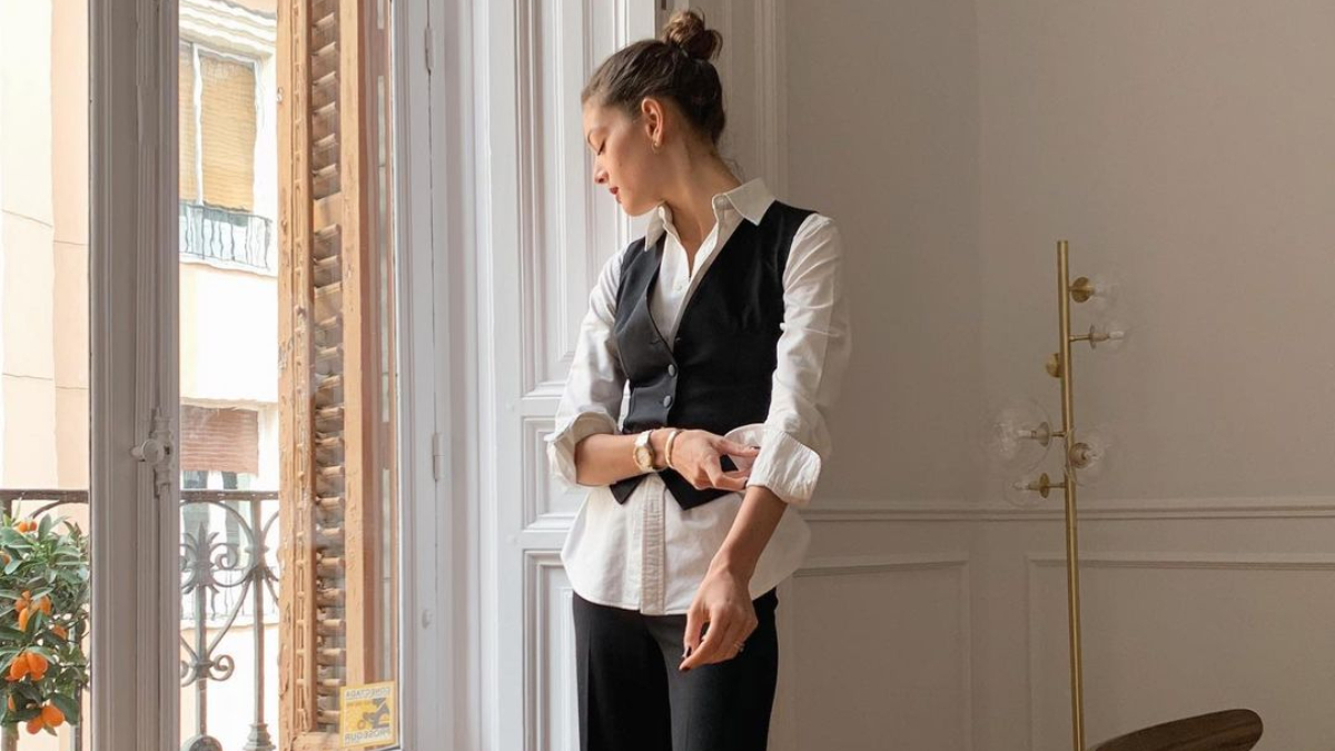 La modelo Marta Ortiz en su casa / Foto: @martaortizp