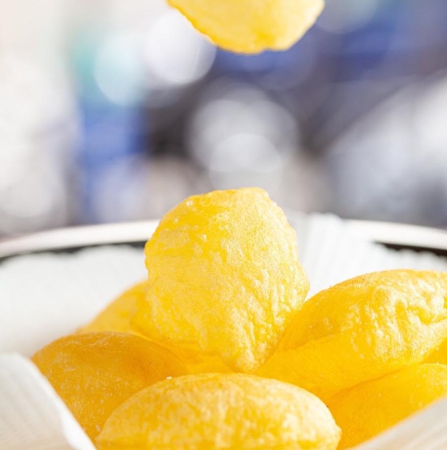 Patatas soufflées