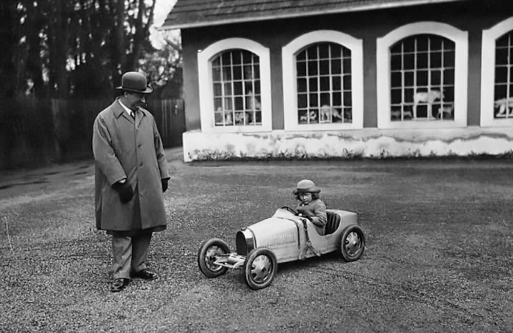 Nacimiento del Bugatti Baby II
