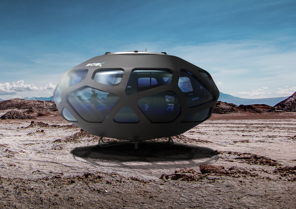 Turismo espacial/Foto: EOS-X Space