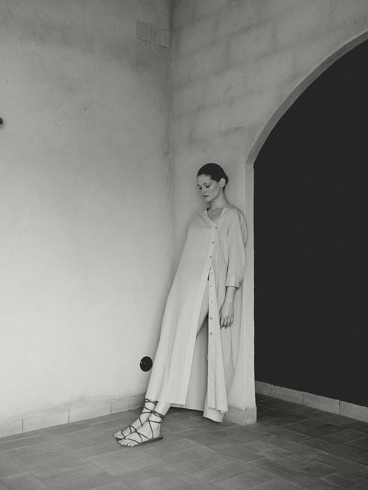 Uno de los vestidos / Foto: Opere Plumari
