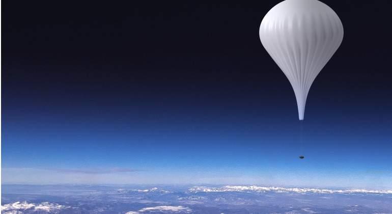 El globo de EOX-S Space