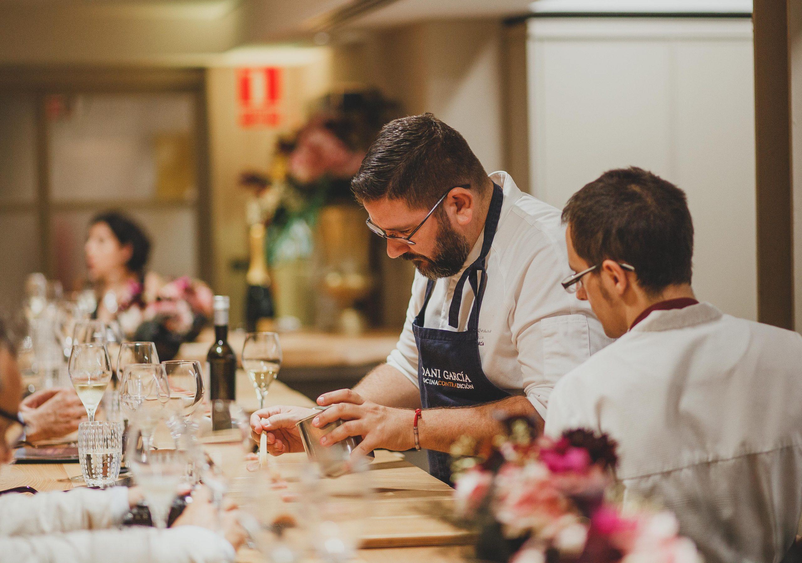 El Chef Dani García / Foto: Grupo Dani García