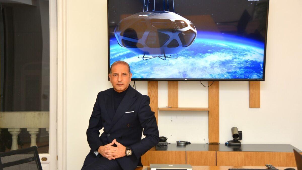 Kemel Kharbachi, fundador de EOS-X SPACE