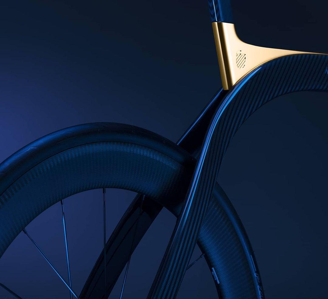 Detalles de la bicicleta Akhal Sheen de Extans./Foto: Extans