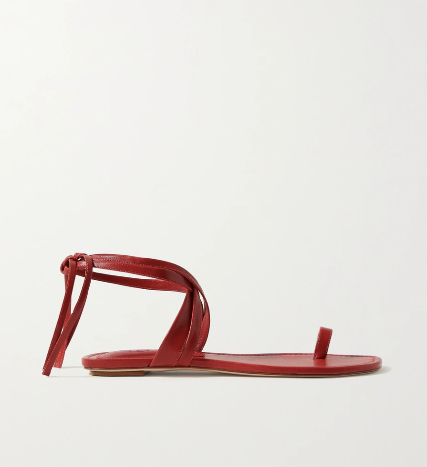 Sandalias de Porte & Paire / Foto: Net a Porter