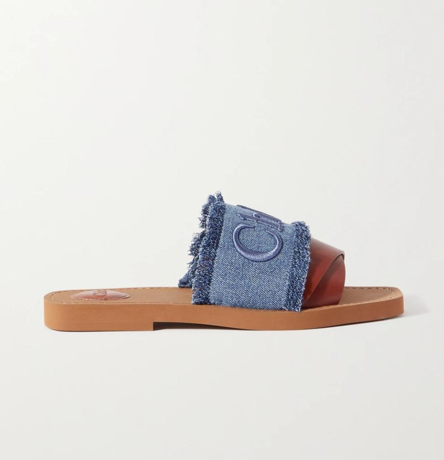 Sandalias de Chloé / Foto: Net a Porter