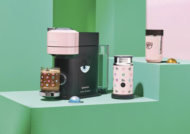 Colección de Nespresso con Chiara Ferragni