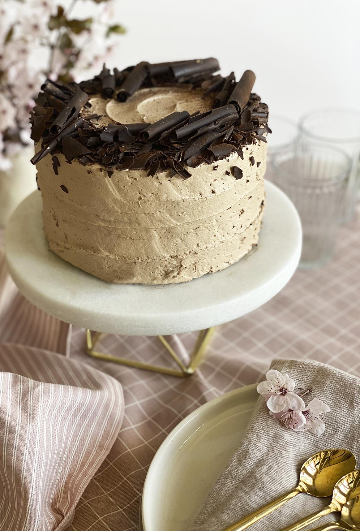 Tarta de chocolate sin gluten de Mía Bakery