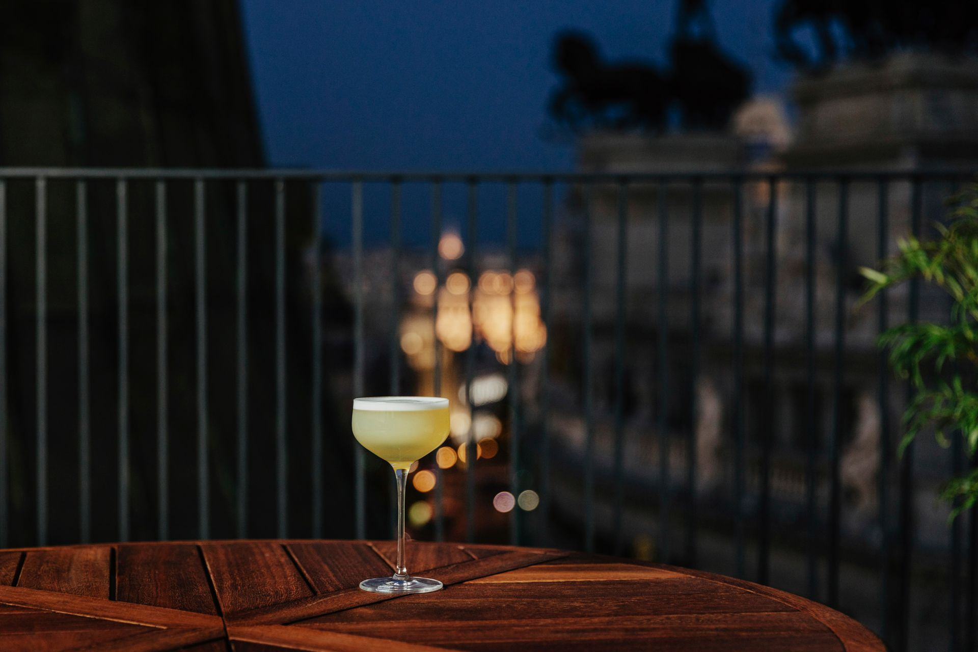 Cóctel en la terraza / Foto: Óscar Romero