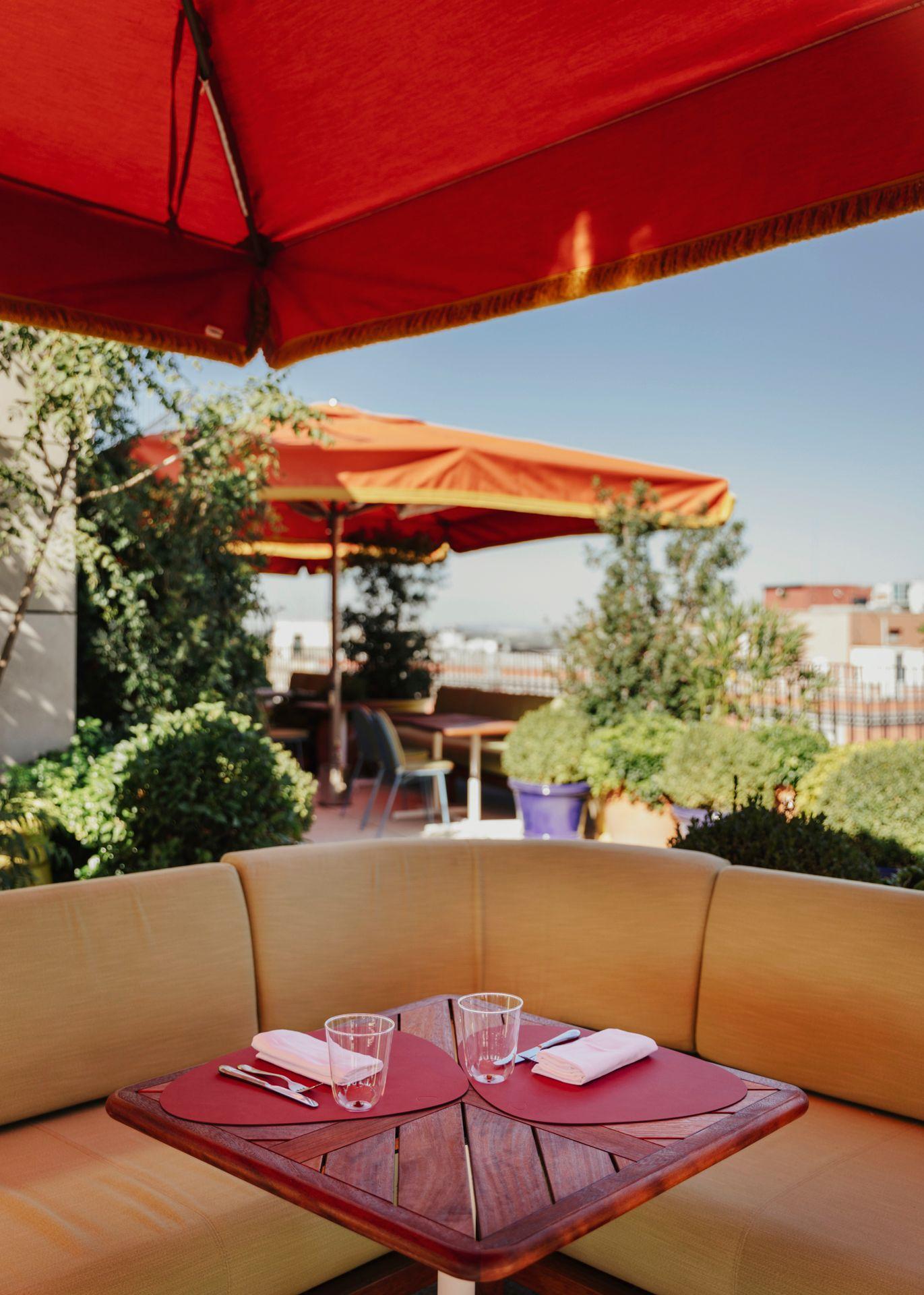 Rincón de la terraza / Foto: Dani Brasserie