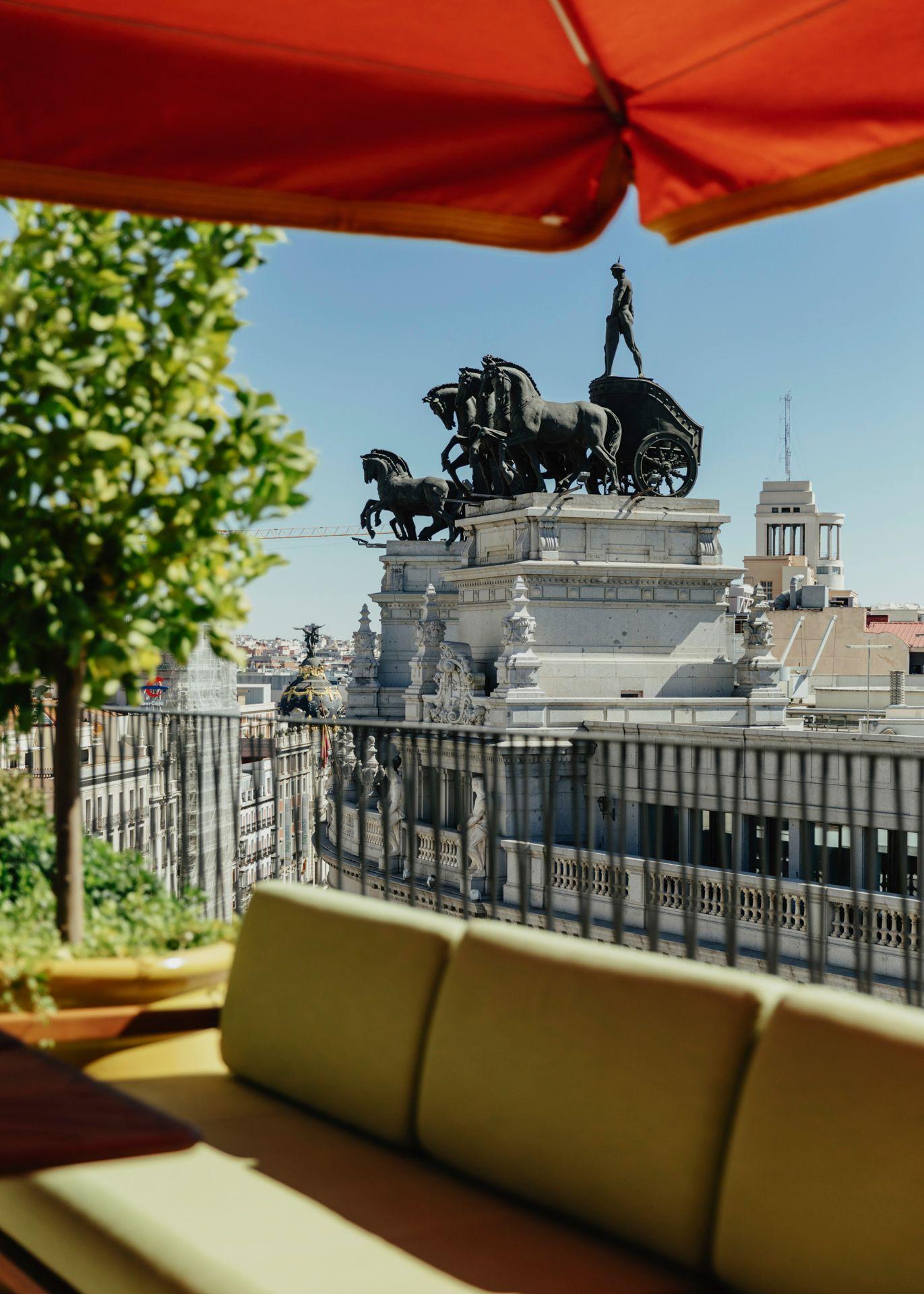 Vistas de la terraza / Foto: Dani Brasserie