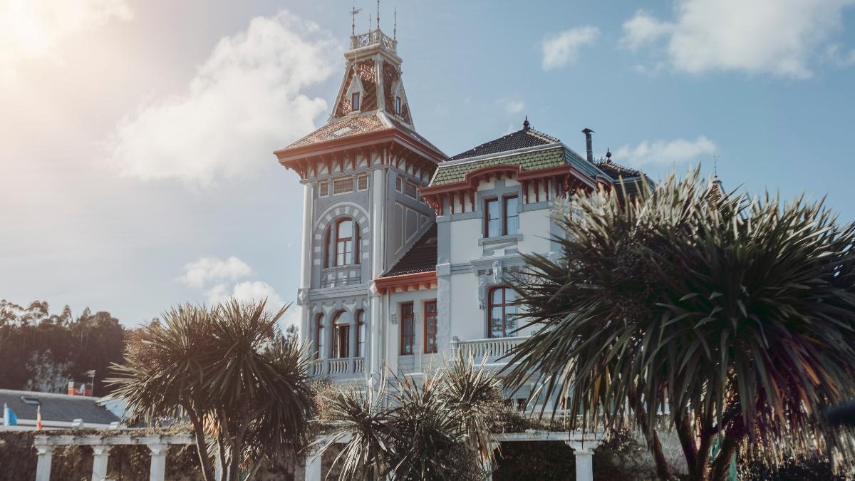 La fachada de Villa Rosario / Foto: Villa Rosario
