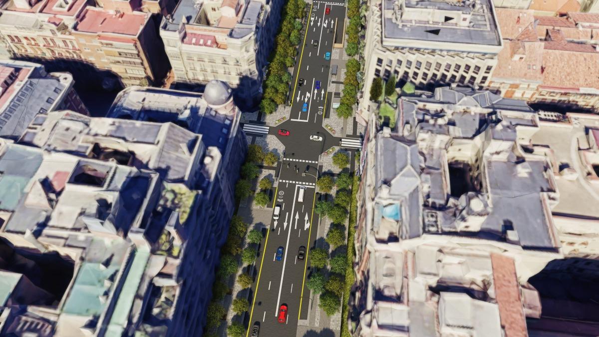 Así quedará la calle Ortega y Gasset de Madrid tras su remodelación