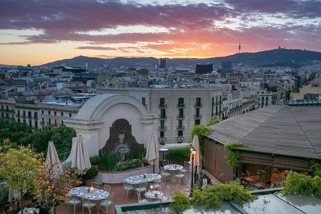 Terraza del Hotel Palace Barcelona