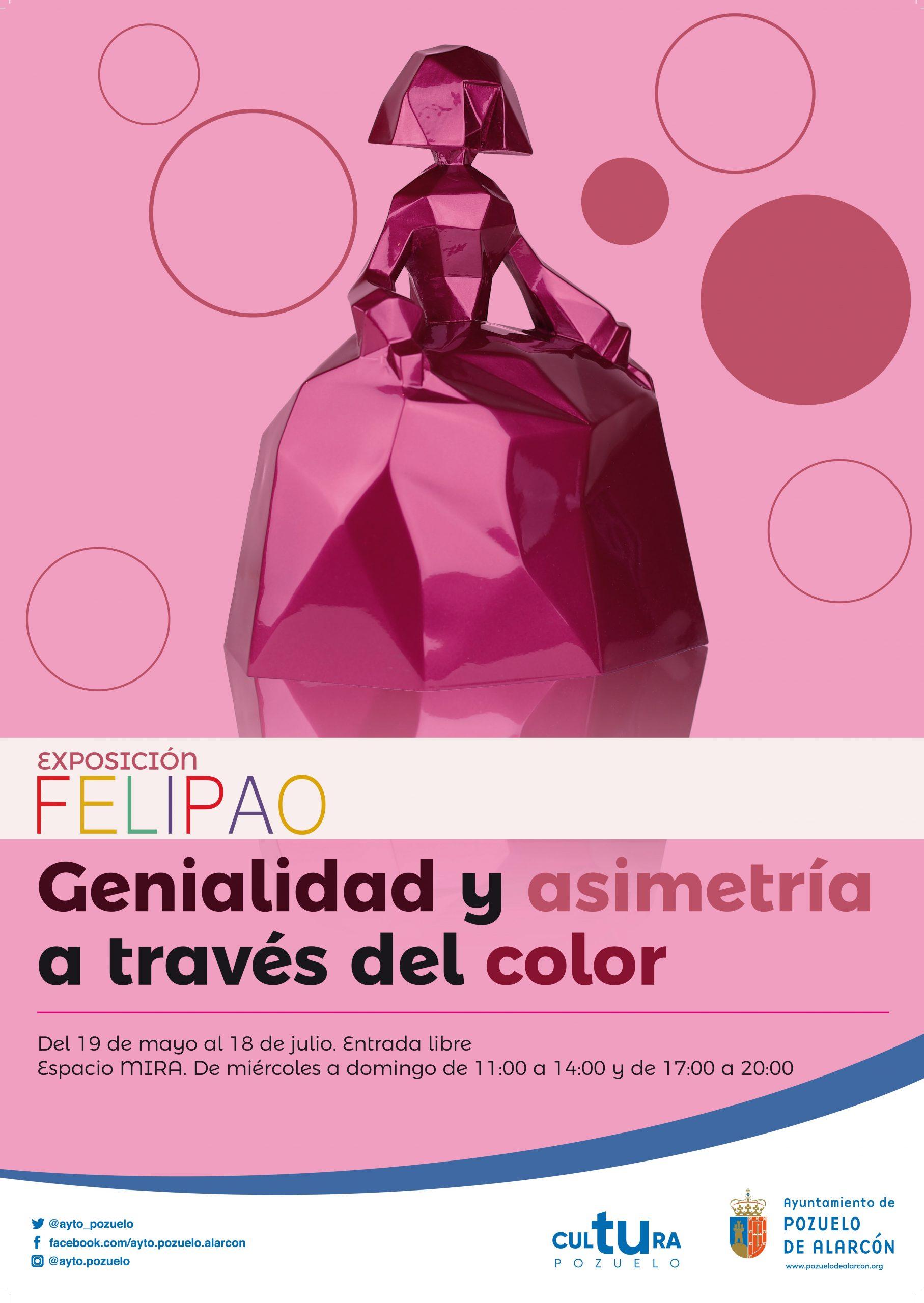 Cartel de la exposición de Felipao