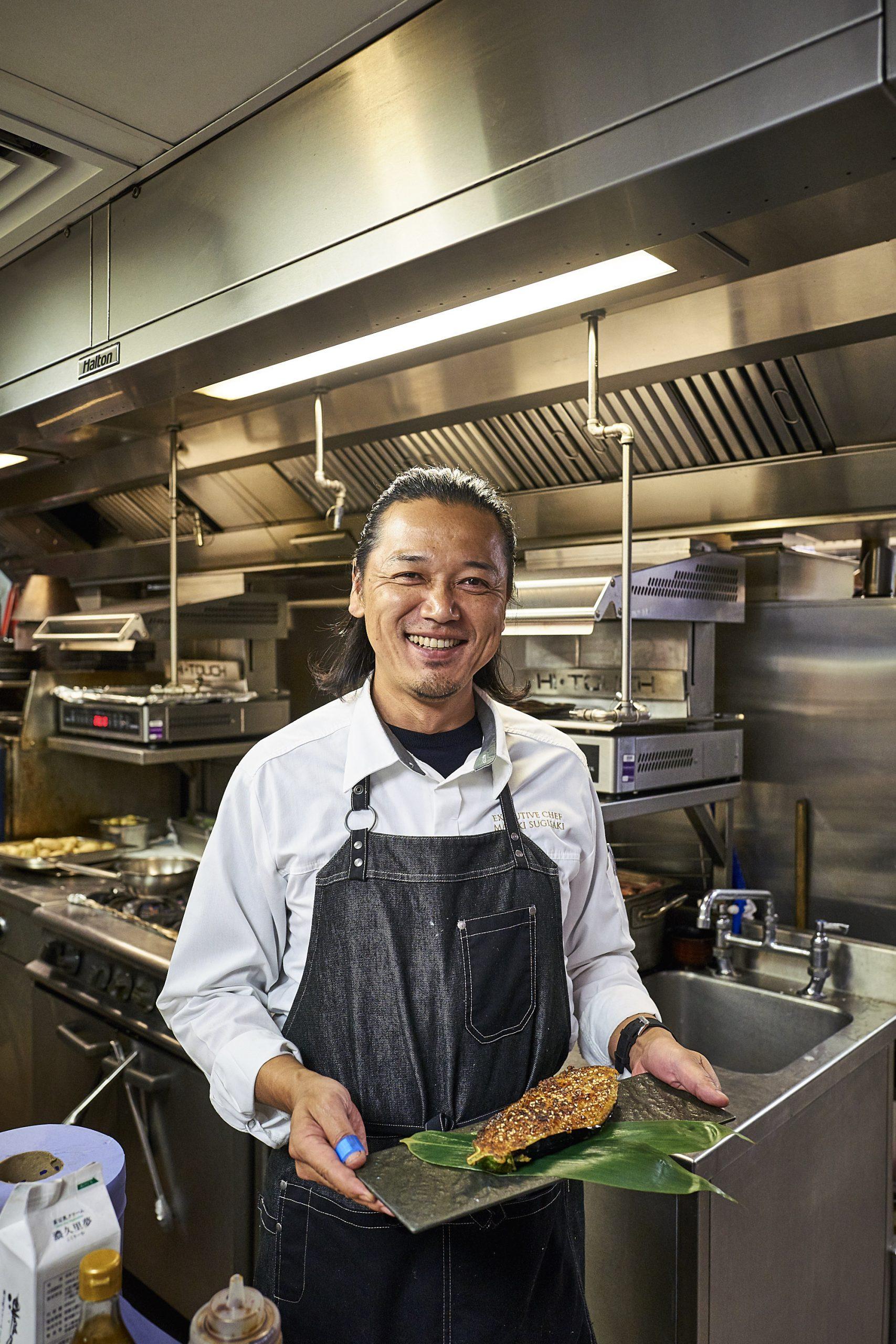El chef Masaki Sugisaki / Foto: Dinings