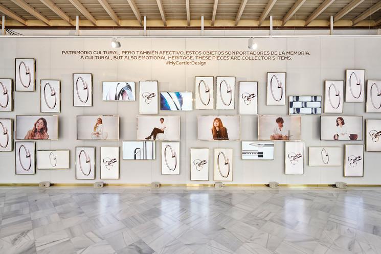 Otro de los rincones de la exposición / Foto: Cartier