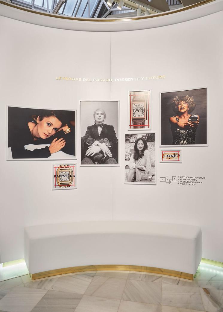 Uno de los rincones de la exposición / Foto: Cartier