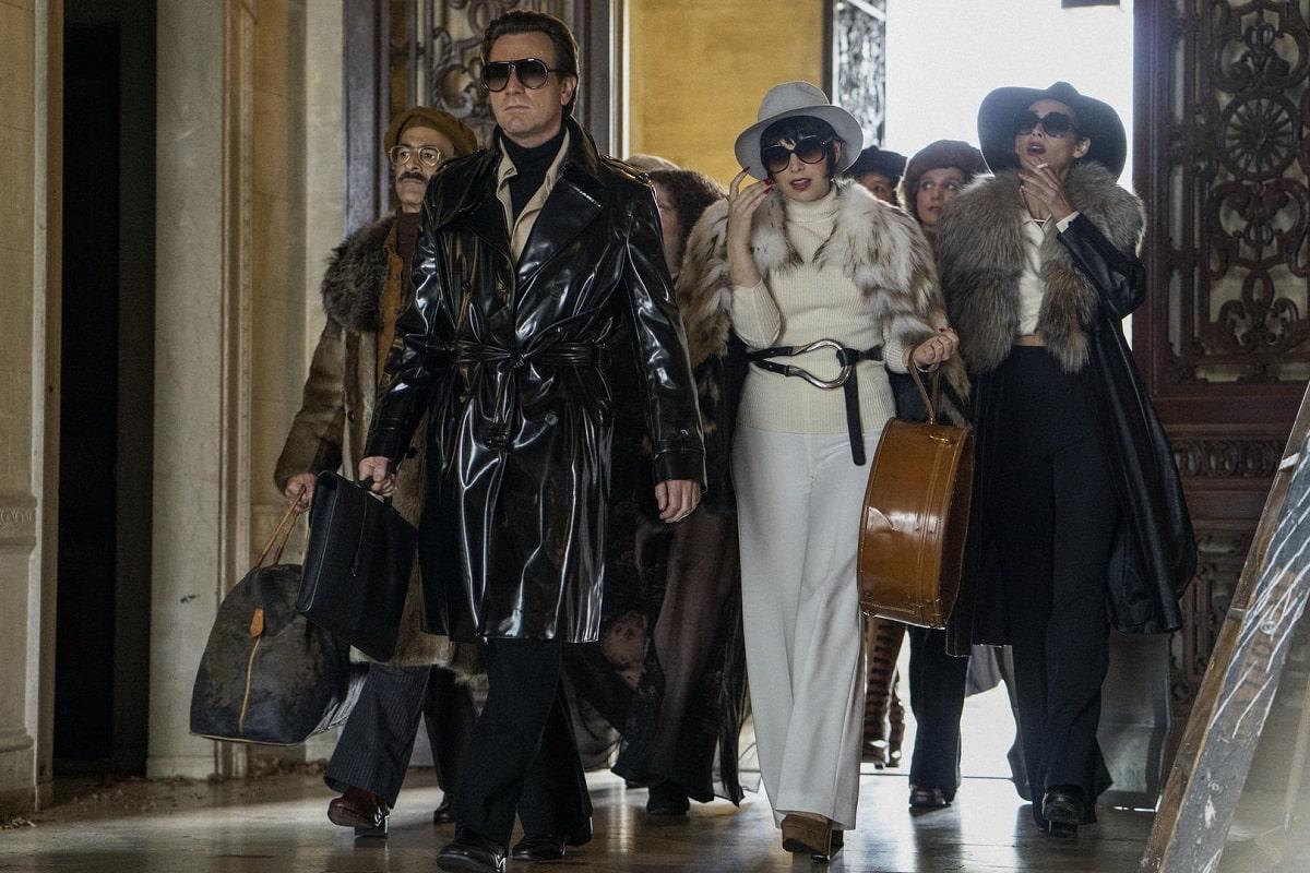 Halston en Versalles / Foto: Netflix