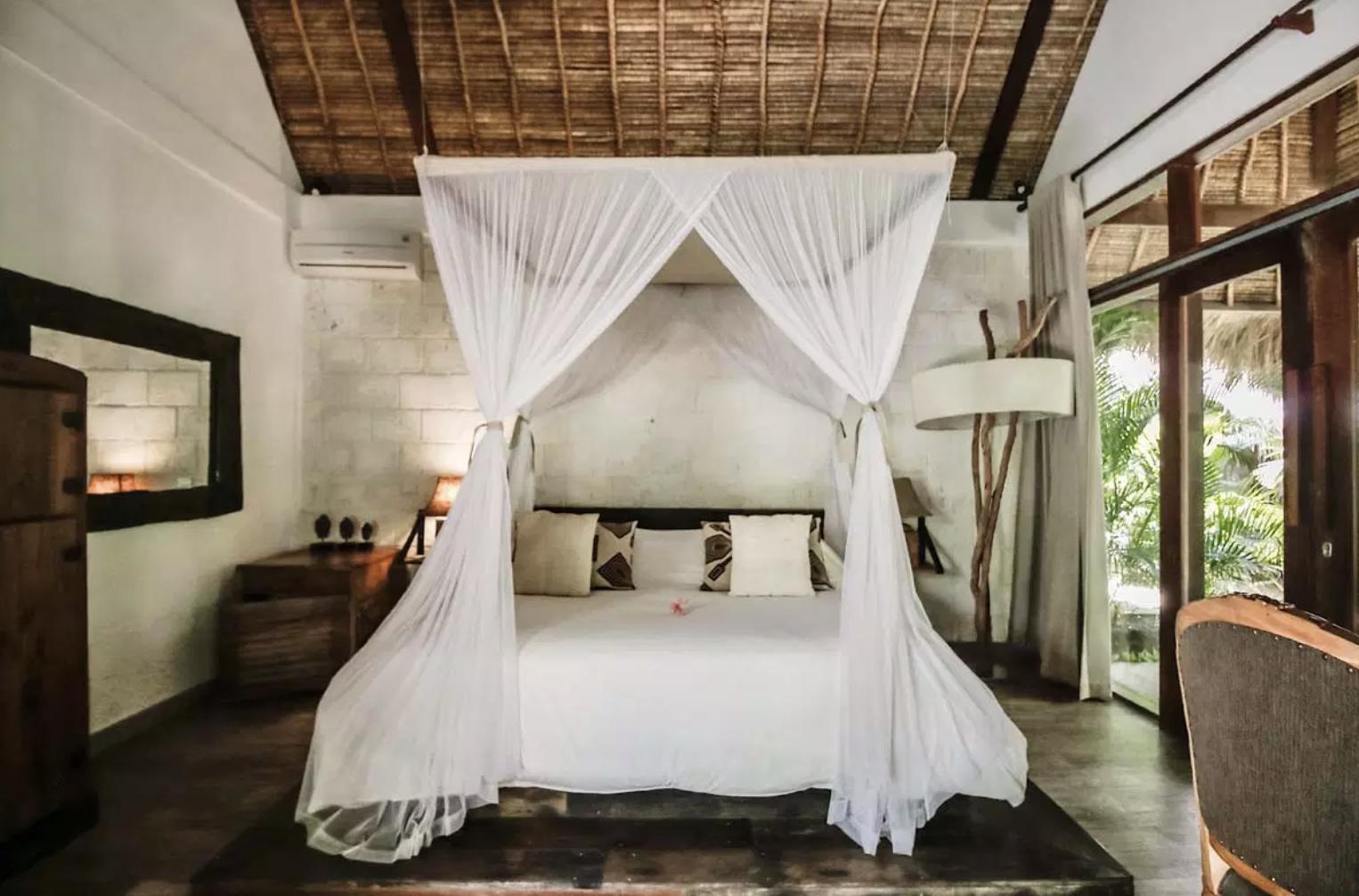 Una de las habitaciones / Foto: La Cabane